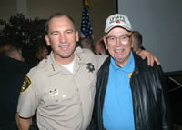 Mel Ramos & Sheriff Bill Young